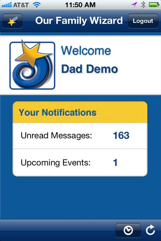 Our Family Wizard Co-Parenting App