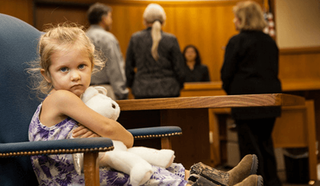should i bring my kids to court for my child custody case